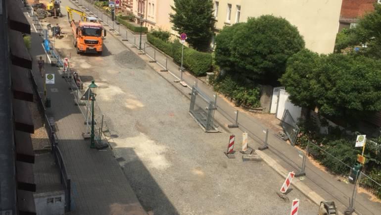 Baumaßnahme Adalbertstraße, Zufahrt gesperrt!